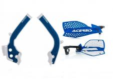 Acerbis Frame Cover X-Grip Husky FC 250 450 16-18 X Ultimate HandGuards DarkBlue